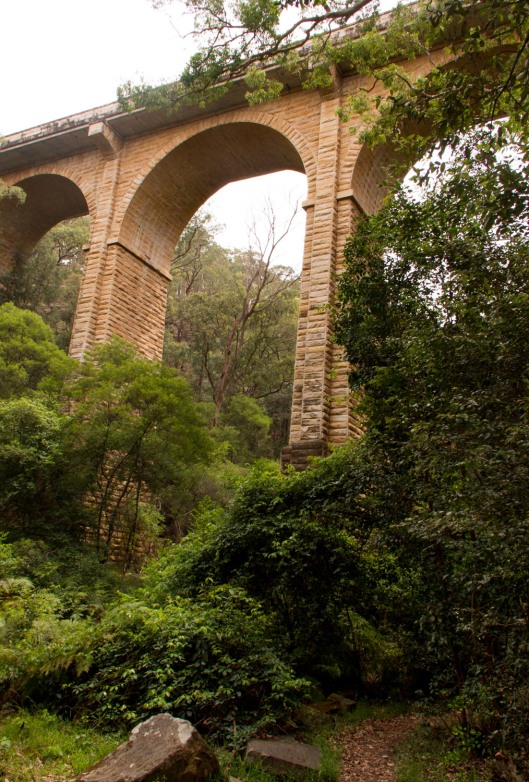 Tall Bridge, but no romance in that weed infested base.